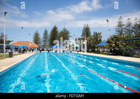 Open Air Swimming Pool In Ognyanovo Blagoevgrad Province Bulgaria Stock Photo 86793044 Alamy