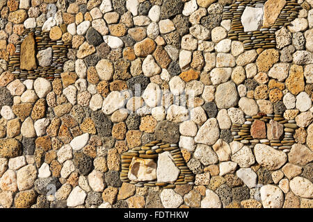 abstract decorative bas-relief of natural stone texture background for any of your project - Stock Photo