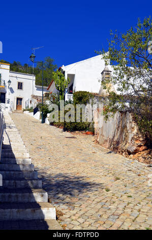 Cottage in the village of Alte in Portugal - Stock Photo