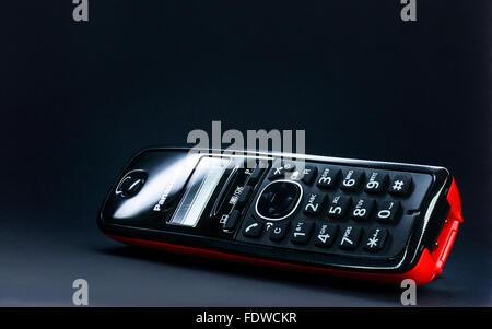 Panasonic telephone - Stock Photo