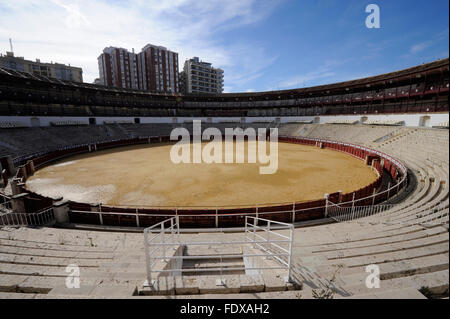 Plaza de toros de La Malagueta-Bullring Malaga,Spain - Stock Photo