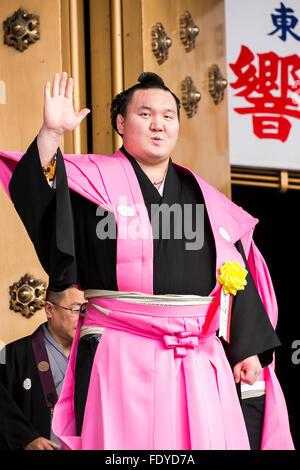 Sumo Wrestler And Yokozuna Hakuho Sho Sumo Wrestlers And