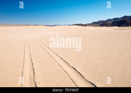 Dumont Dunes Off-Highway Vehicle Area, in the Mojave Desert of California - Stock Photo