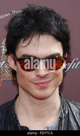 Ian Somerhalder at the John Varvatos 9th Annual Stuart House Benefit held at the John Varvatos Boutique in Los Angeles. - Stock Photo
