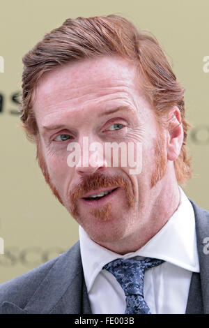 Ascot, United Kingdom, Damian Lewis, actor - Stock Photo