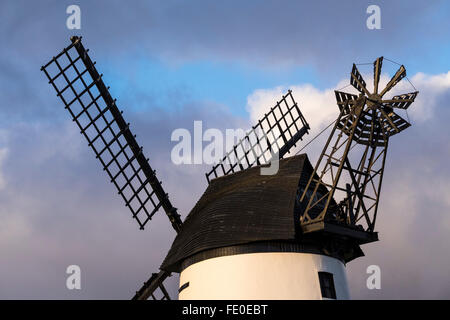 The roof of Lytham Windmill on the Fylde coast in Lancashire, UK. - Stock Photo