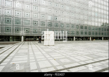 Arab World Institute, Institut du Monde Arabe, Paris, Ile-de-France, France - Stock Photo