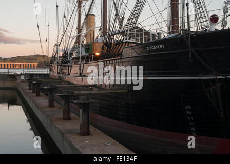 RRS Discovery, Discovery Point, Dundee, Scotland,UK. - Stock Photo