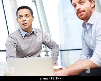 business men in meeting - Stock Photo