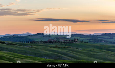Crete Senesi, Tuscany, Italy - Stock Photo