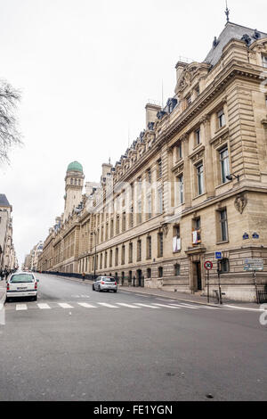 Main building Paris Sorbonne University, Paris IV, Université Paris Sorbonne, public research university in Paris, - Stock Photo
