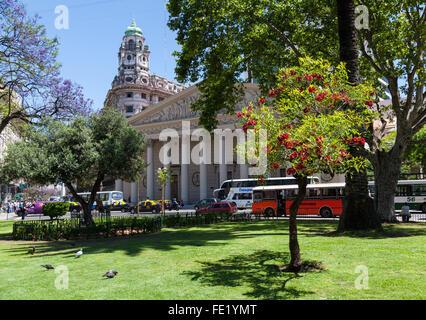 Buenos Aires Metropolitan Cathedral, Argentina - Stock Photo