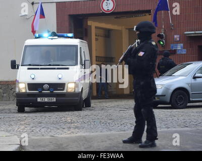 Five Czechs were released from Lebanon on condition that Prague does not extradite Lebanese Fayad to United States, - Stock Photo