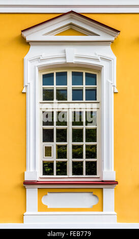 The window in the Baroque style - Stock Photo