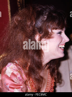 GRACE SLICK singer with Jefferson Airplane in August 1968. Photo Tony Gale - Stock Photo