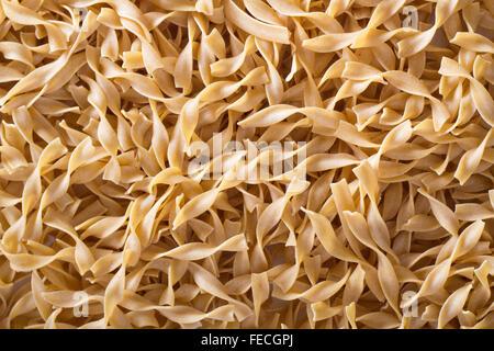 Egg pasta background - Stock Photo