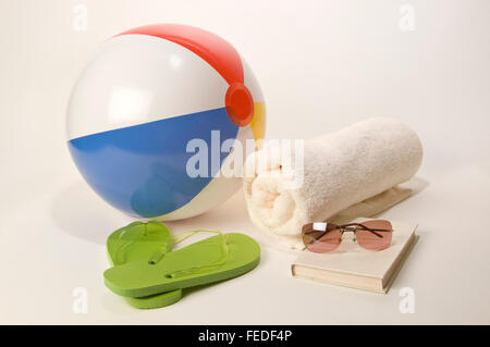 Beach Holiday Accessories - Stock Photo