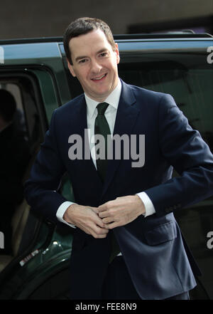 London, UK, 22nd Nov 2015: George Osborne MP, British Conservative Party politician Chancellor of the Exchequer - Stock Photo