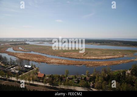 Vecdaugava nature reserve in Riga, Latvia - Stock Photo
