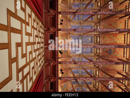 The ceiling of Council room at Stockholm city hall, Stockholm, Sweden - Stock Photo