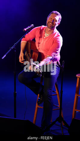 PATCHOGUE, NY-FEB 3: Musician Craig Morgan performs onstage at The Emporium on February 3, 2016 in Patchogue, New - Stock Photo