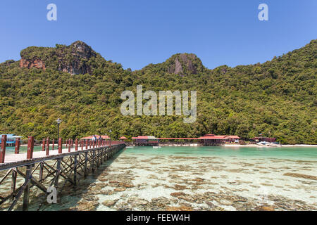 how to get to bohey dulang island
