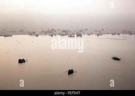 Varanasi, Ganges, Uttar Pradesh, India, South Asia - Stock Photo