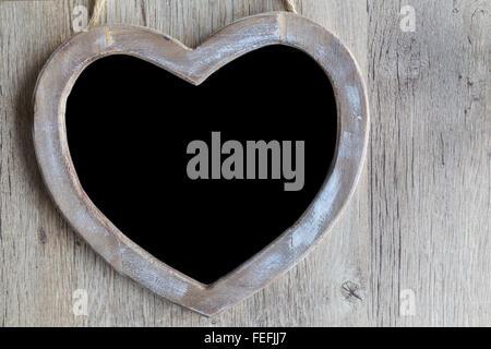Heart Chalkboard - Stock Photo
