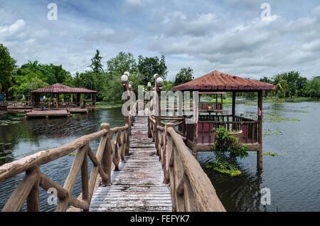 Taman Rekreasi Tasik Melati, Perlis, Malaysia - Stock Photo