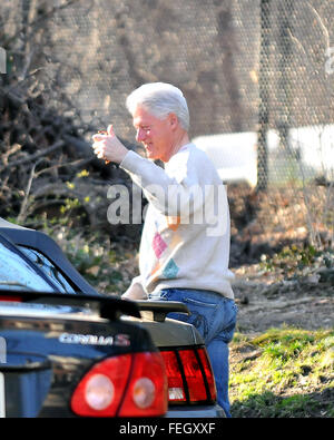 March 5, 2008 - Washington, District of Columbia, United States of America - Former United States President Bill - Stock Photo