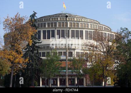 Poland, city of Wroclaw, Centennial Hall (Polish: Hala Stulecia) building - Stock Photo