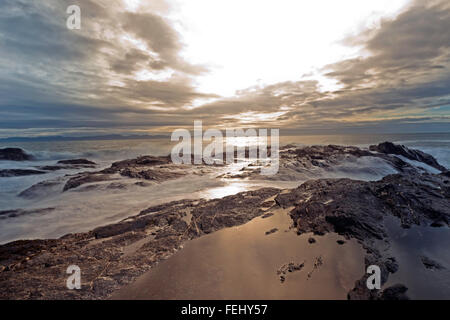Botany Bay View in Afternoon,Port Renfrew - Stock Photo