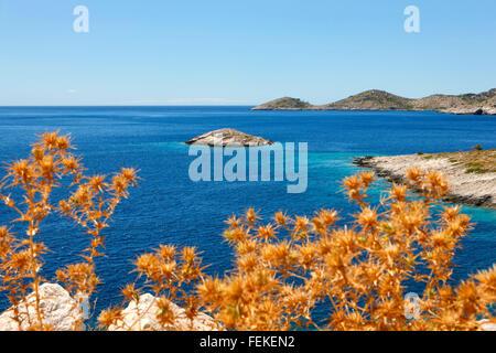 Croatia landscape, Lastovo island - Stock Photo