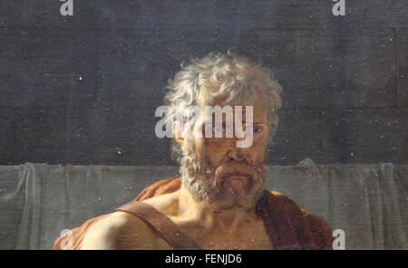 The Return of Marcus Sextus, 1799. By Pierre-Narcisse Guerin (1774-1833). Neoclassicism. Oil on canvas. Louvre Museum. - Stock Photo