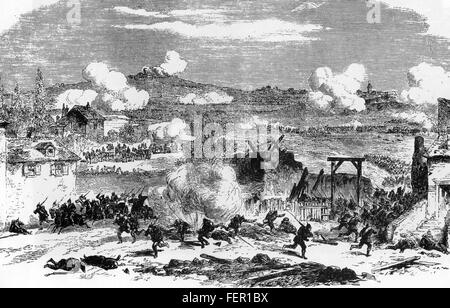 FRANCO-PRUSSIAN WAR 1870-1871  Fighting at Villejuif as part of the defence of Paris