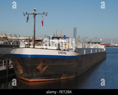 Cynthia (ship, 1993) ENI 07001733 Port of Rotterdam pic4 - Stock Photo