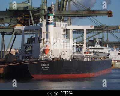 Obelix (ship, 2011) IMO 9446582 Port of Rotterdam pic3 - Stock Photo