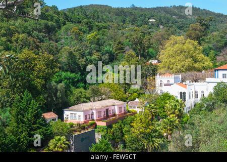 Caldas de Monchique, Serra de Monchique, Algarve, Portugal, Europe - Stock Photo