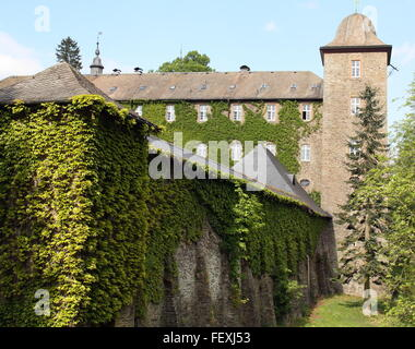 Attendorn. May-21-2015. Burch Schnellenberg from the 12th century in Attendorn. Germany - Stock Photo