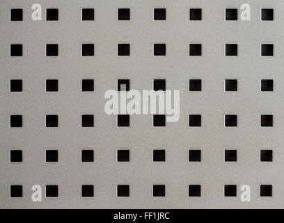 A large image a nice new chrome or steel grill or metal mesh - Stock Photo