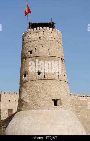 ARM Fahidi Fort, Deira, Dubai, United Arab Emirates, MiddRMe East - Stock Photo