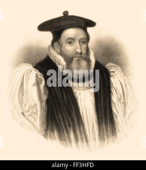 George Abbot, 1562-1633, an English divine, Archbishop of Canterbury - Stock Photo