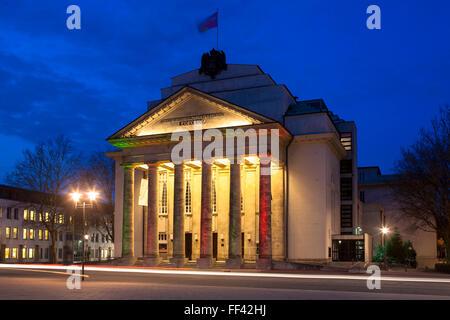 Europe, Germany, North Rhine-Westphalia, Detmold, the theatre Landestheater.  Europa, Deutschland, Nordrhein-Westfalen, - Stock Photo