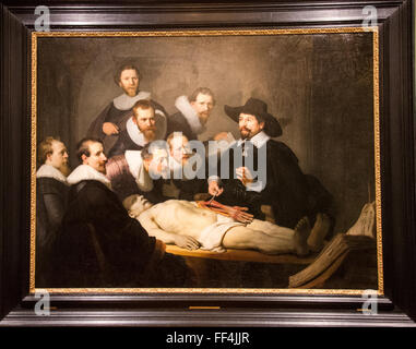 The Anatomy Lesson Of Dr Nicolaes Tulp 1632 By Rembrandt Stock