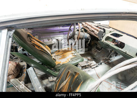 a very dirty car interior and dashboard stock photo royalty free image 39262801 alamy. Black Bedroom Furniture Sets. Home Design Ideas