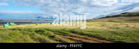 Vatnsnes peninsula, Iceland - Stock Photo
