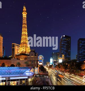 View of the Las Vegas Strip - Stock Photo