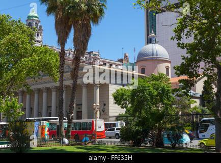 Metropolitan Cathedral, Plaza de Mayo - Stock Photo