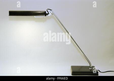 energy, light, desk light LD 9 (light-emitting diode 9 volt), made by: VEB Leuchtenbau Lengefeld, East-Germany, - Stock Photo