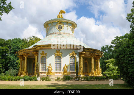 chinese tea house of sanssouci in potsdam stock photo 41843619 alamy. Black Bedroom Furniture Sets. Home Design Ideas